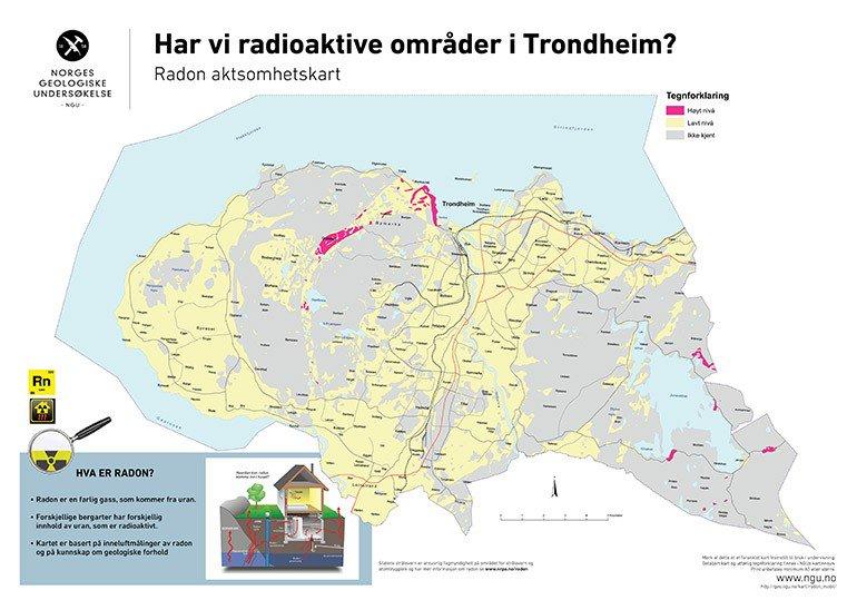 radon trondheim kart Susanne Buiter on Twitter: