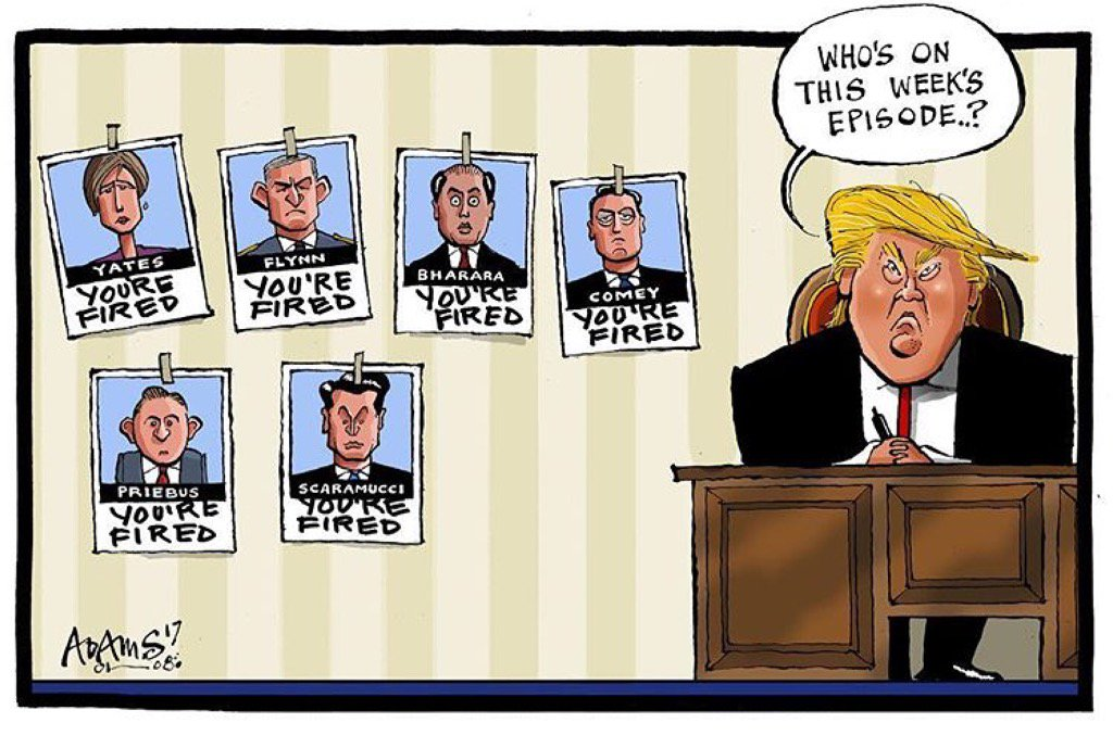 Image result for political cartoons general kelly in the white house with pres trump