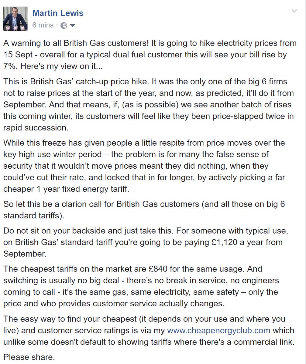 A warning for all British Gas customers.  RT https://t.co/UNzUfM7SOn