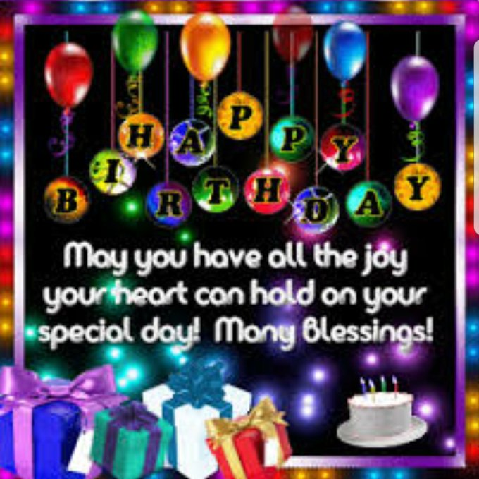 happy happy birthday!! May God bless you to see many many more!!