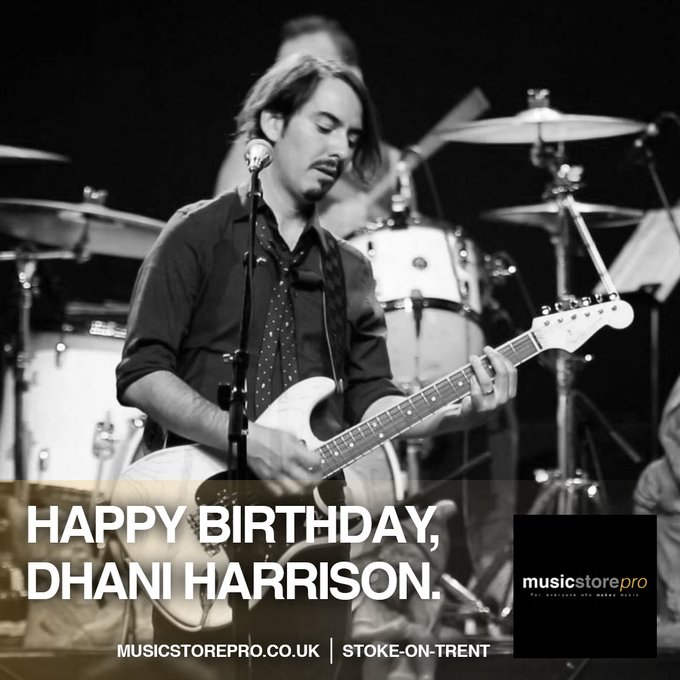 Dhani Harrison turns 39 today. Happy Birthday!