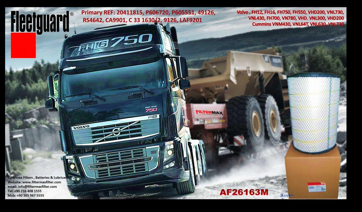 Volvo Truck Air Filter  AF26163M  20411815