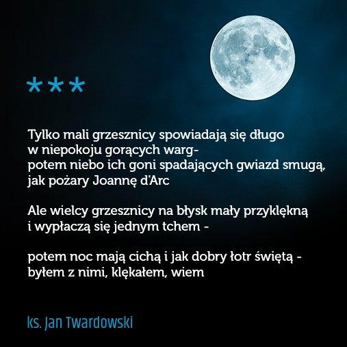 Daniel Nalepka Twitter वर Kilka Wierszy Ks