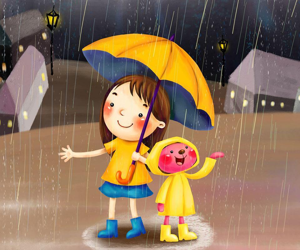 холста картинки хорошего дня в дождливый день закате солнца загадать