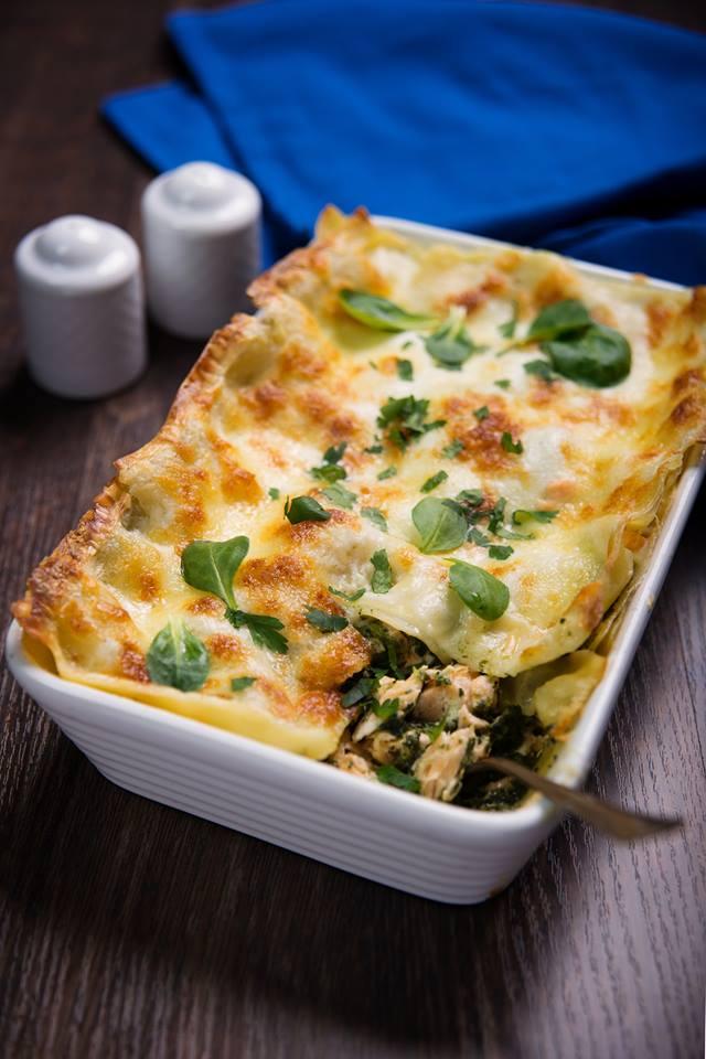 """cuisine et mets on twitter: """"lasagnes saumon épinards https://t.co"""
