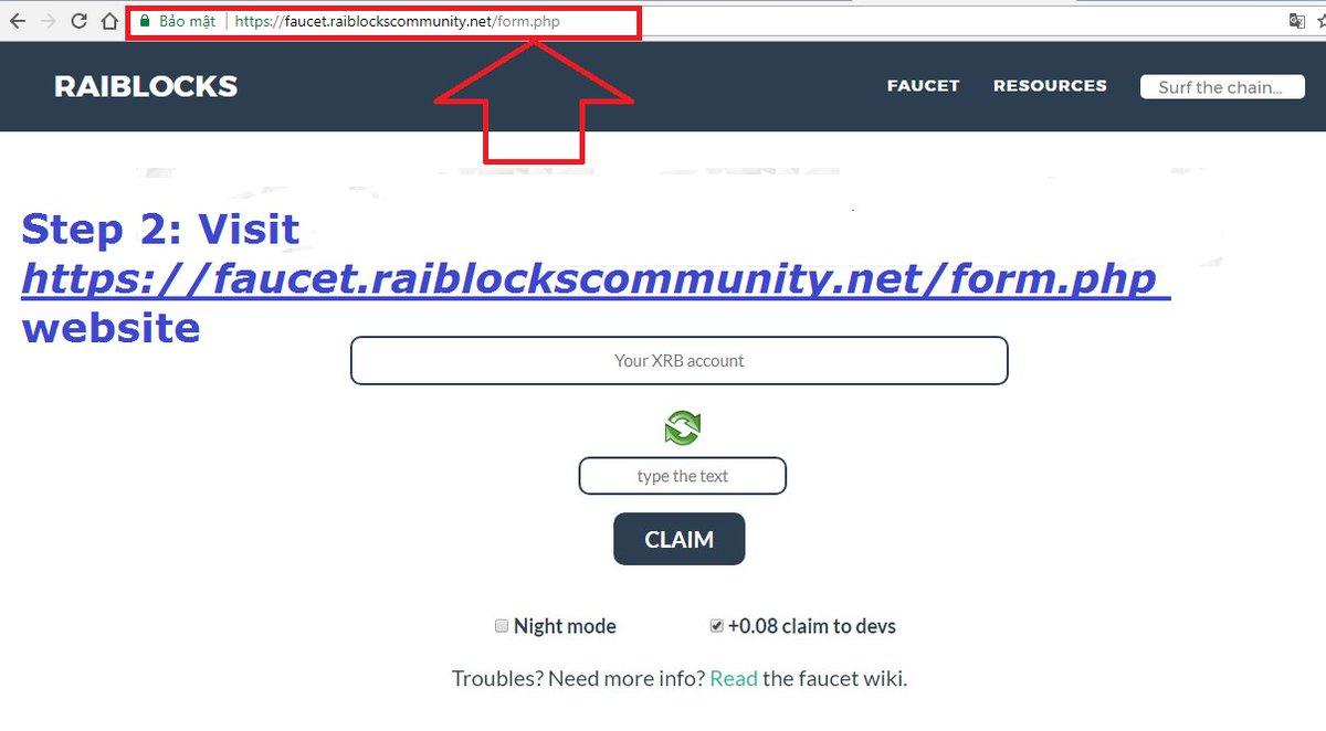 raiblockscommunity.net/faucet/ - YouTube