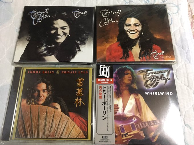 HAPPY BIRTHDAY TOMMY BOLIN                       The Ultimate TEASER 3CD\s TEASER DELUXE PRIVATE EYES WHIRWIND