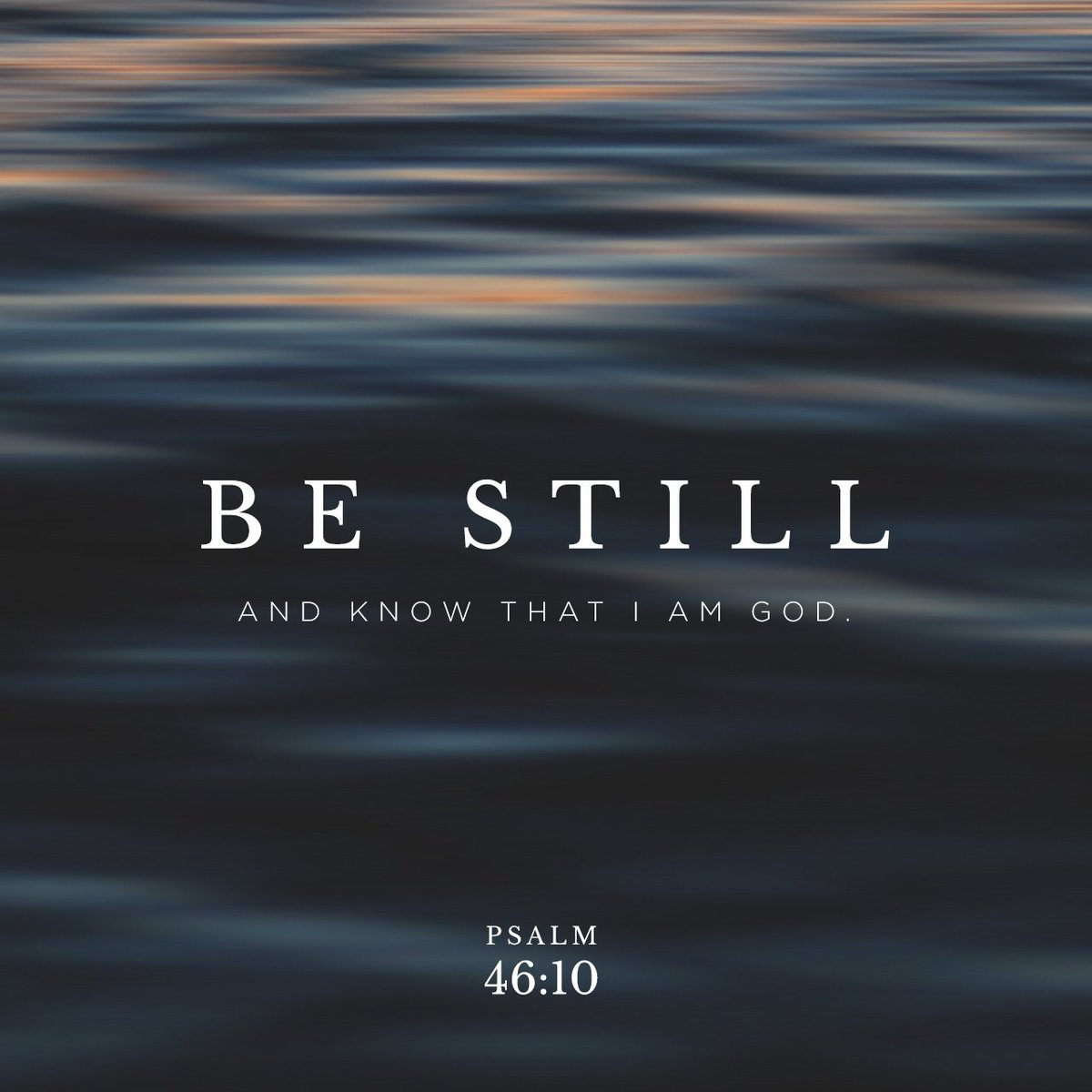"""""""Be still, and know that I am God! I will be honored by every nation. I will be honored… https://t.co/uJ0KucFmB6 https://t.co/NDmQR2ginp"""