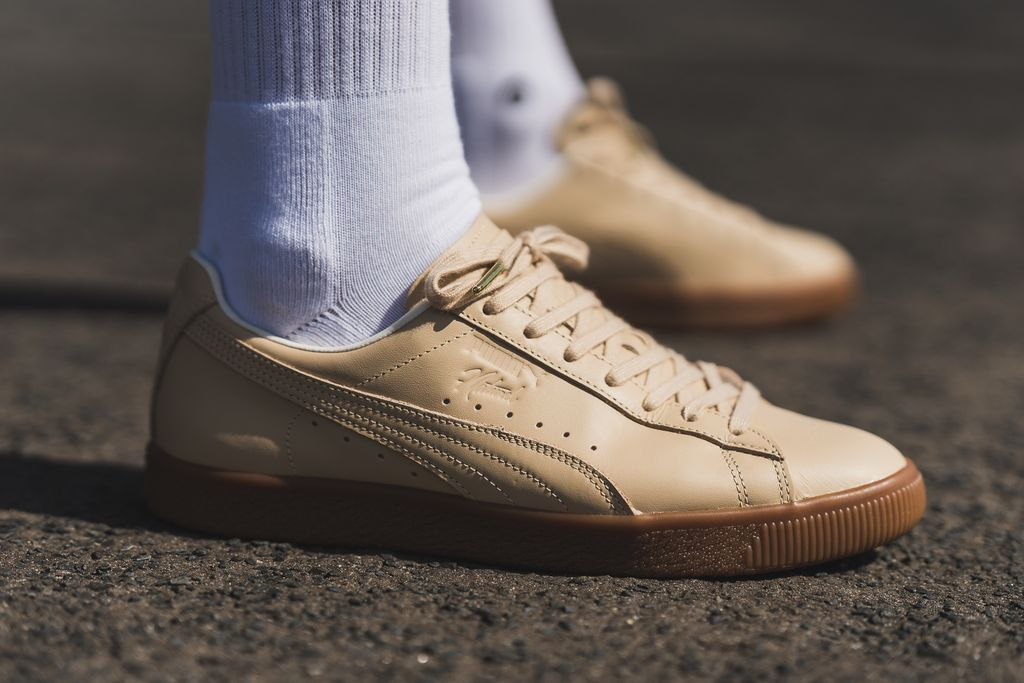 puma clyde veg tan natural