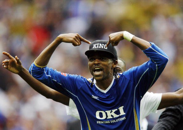 Happy 41st birthday to Nwankwo Kanu - he doesn\t look a day over 50...