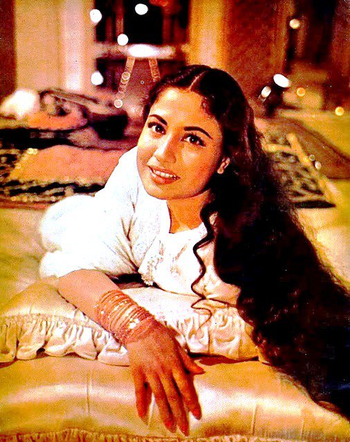 Mahjabeen Banoo. What a woman. Happy birthday, Meena Kumari.