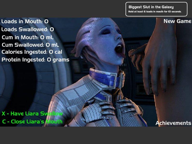 Mass Effect Porn Liara