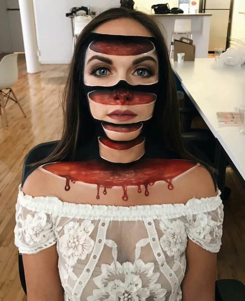 фото макияж проститутки