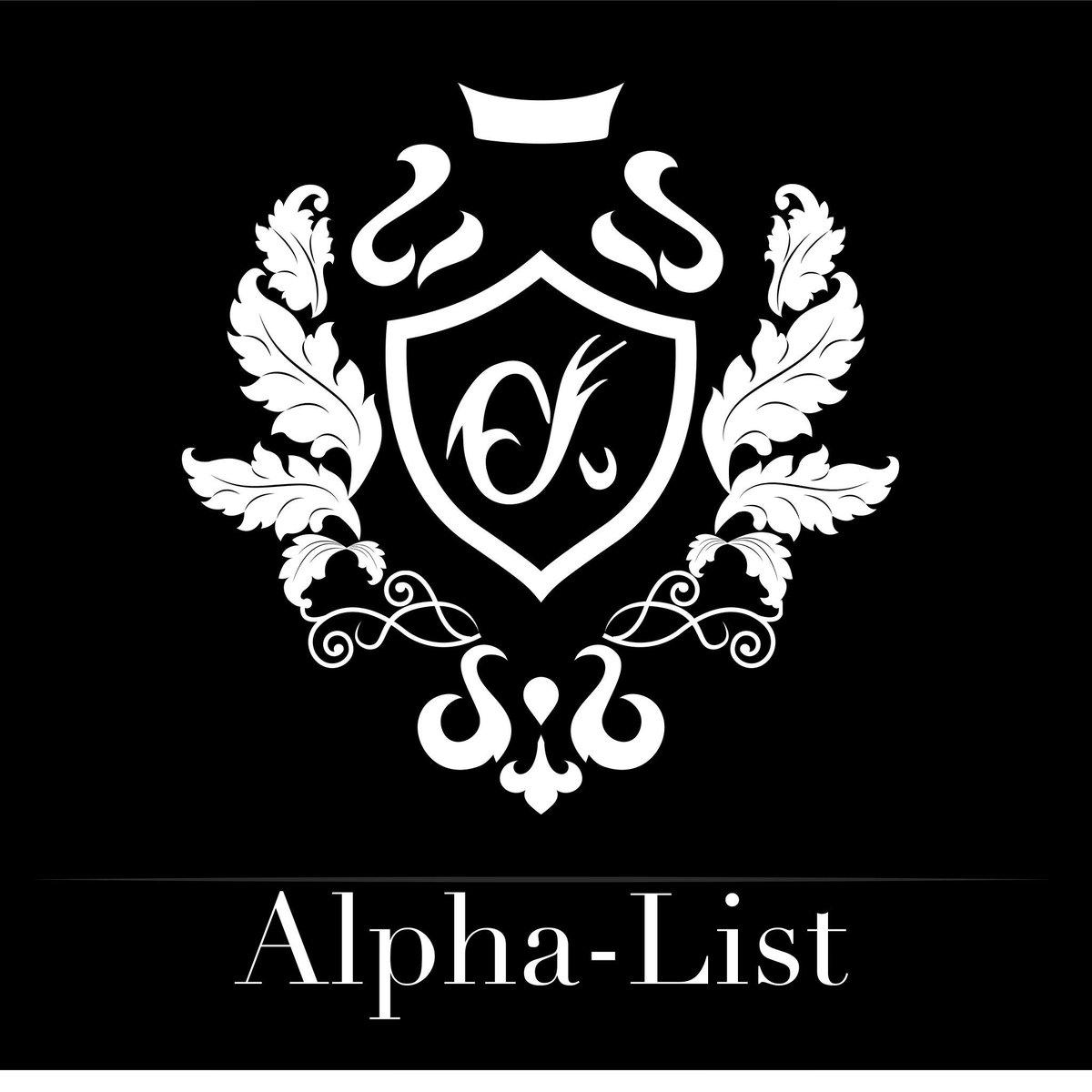 alphalist hashtag on Twitter