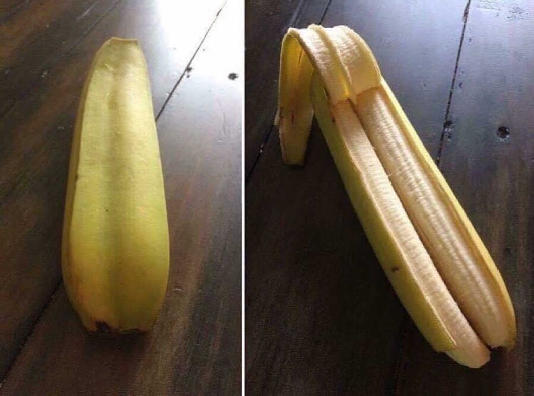 This is a double banana. RT for 5 years...