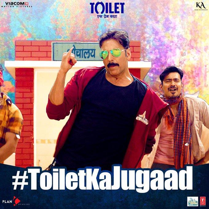 Jugaaduon, taiyaar ho jao...Ab ki baar karna hai #ToiletKaJugaad! Song coming soon. @ToiletTheFilm https://t.co/EYMa9U6BeJ