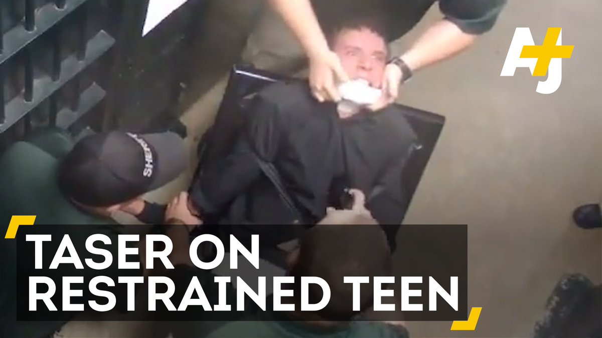 Cops used a Taser on a teen multiple times, even though he was restrained.