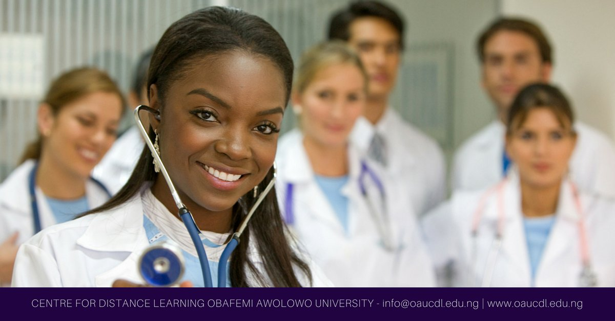Oau Distancelearning On Twitter Plan On Getting A Nursing Degree