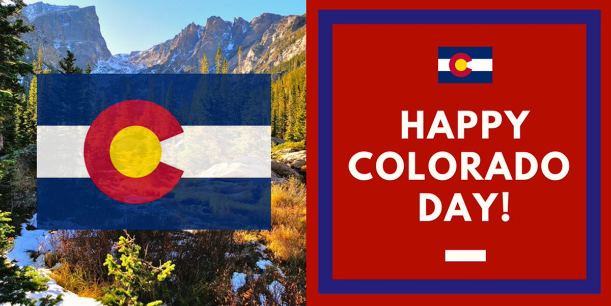 "Cory Gardner on Twitter: ""#OTD 141 years ago, Colorado became the 38th state to join the Union. Today, we celebrate all CO has to offer."