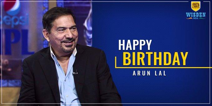 Wishing a very Happy Birthday to former Indian batsman, Arun Lal.