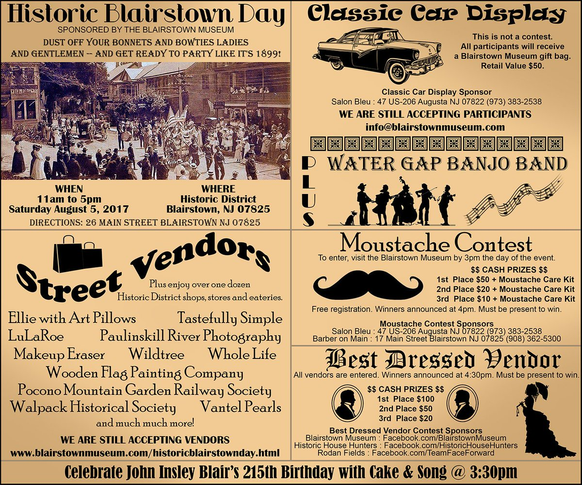 Blairstown Museum Blairstown Twitter - Best car museums in us