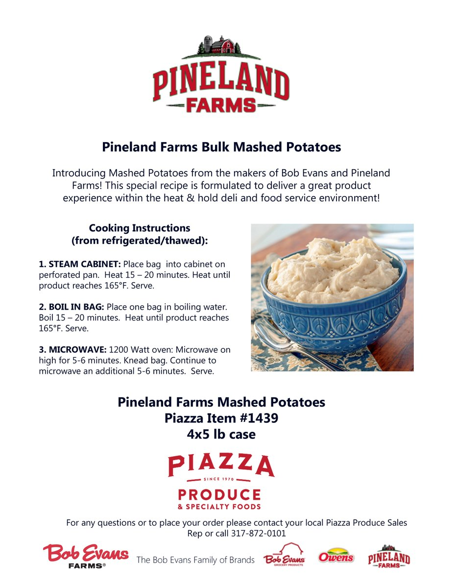 Piazza Produce On Twitter New Product Pineland Farms Bulk