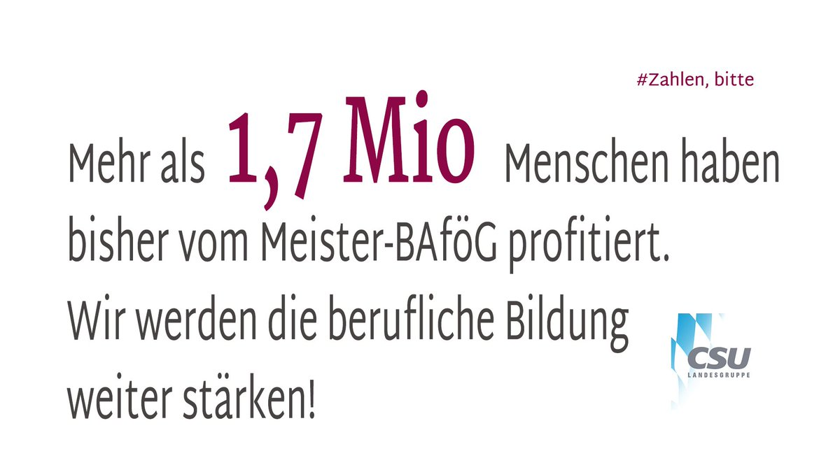 Csu Im Bundestag On Twitter Heute Starten Viele Azubis Ihre