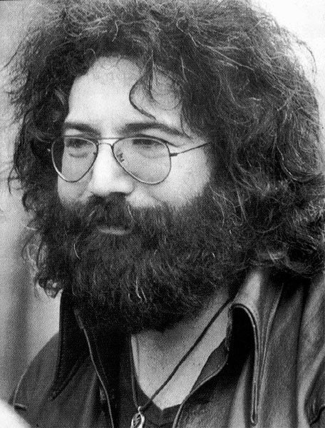 "Happy 75th birthday Jerry!  ""Nothing left to do but smile\"" - Jerry Garcia"