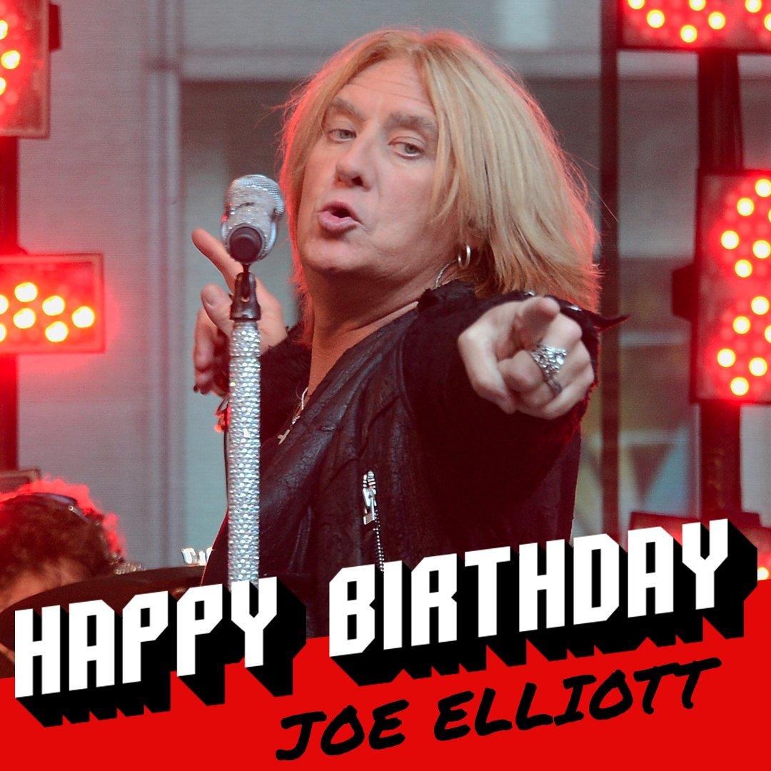 Loudwire: Happy 58th birthday to DefLeppard\s Joe Elliott!