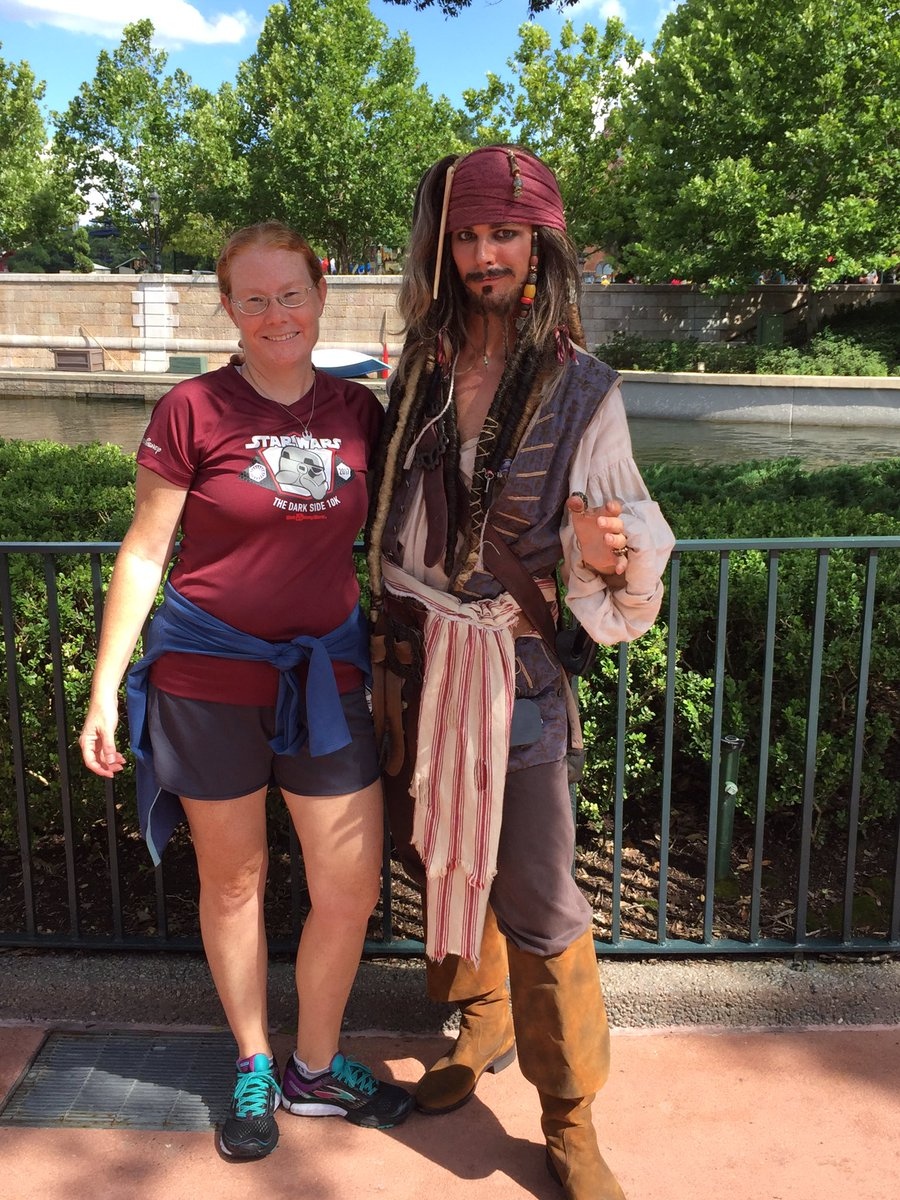 Too hot to run today so I walked to EPCOT from Studios. Look who I spotted off starboard now at International Gateway. #disneypirates <br>http://pic.twitter.com/ePt30ahbOF