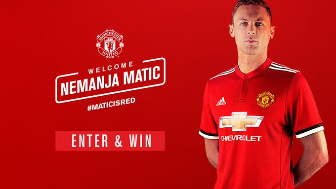Welcome Nemanja Matic.  Wishing for your better days ahead.  Happy birthday.