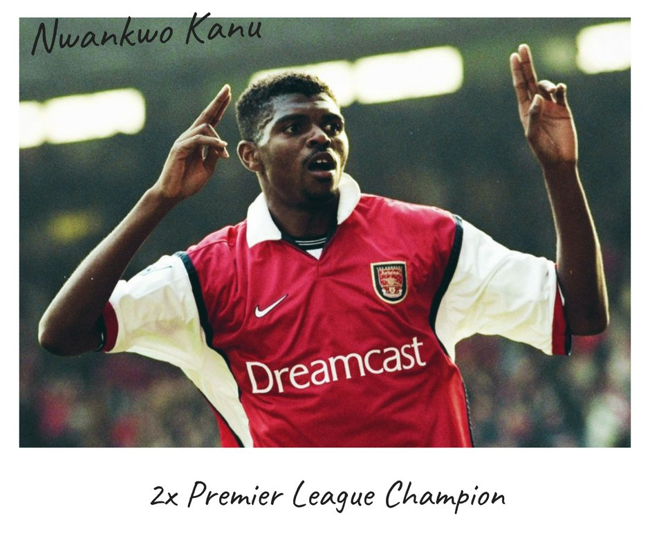 Happy birthday to Nwankwo Kanu The Nigerian scored 54 goals for Arsenal, West Brom and Pompey in the