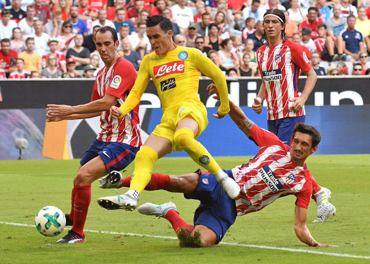 Atletico Madrid vs Napoli Highlights