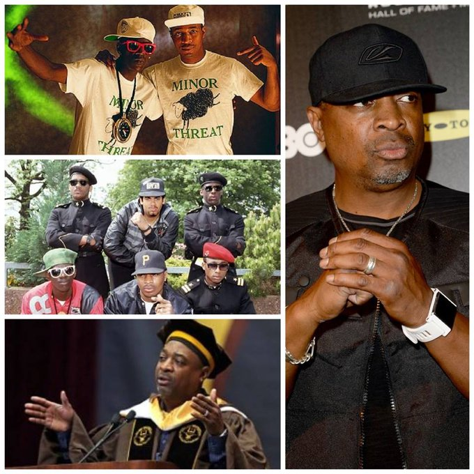 Happy birthday to one of the most important voices in Hip Hop! Chuck D.