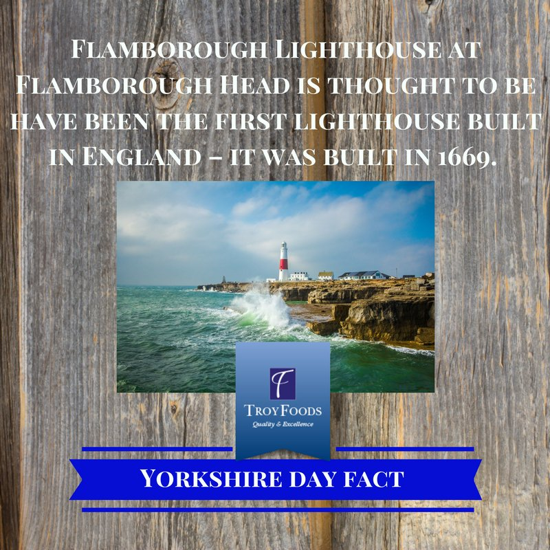 We thought we&#39;d celebrate Yorkshire Day with a few fun Yorkshire Facts! (And maybe a tipple or two) #TeamTroy #YorkshireDay #YorkshireBiz <br>http://pic.twitter.com/AYi1fqhI2G