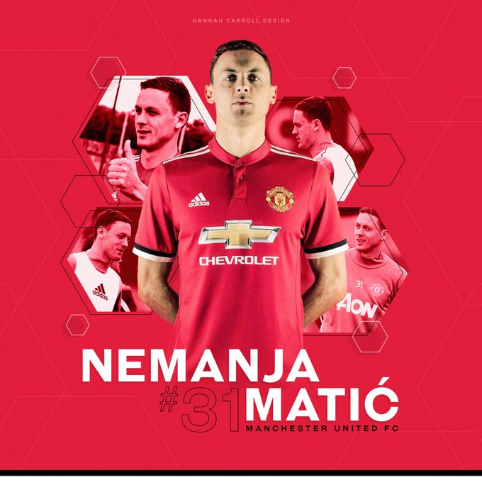 Welcome to Nemanja Mati  Happy Birthday to our new no.31