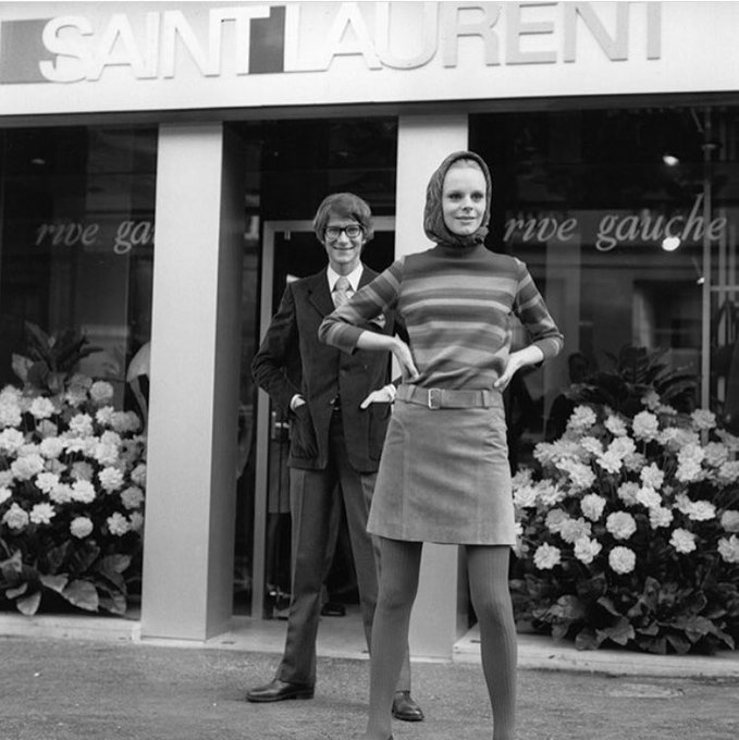 Happy birthday to my beloved Yves Saint Laurent and i can\t wait until i\m able to dress myself fully in YSL