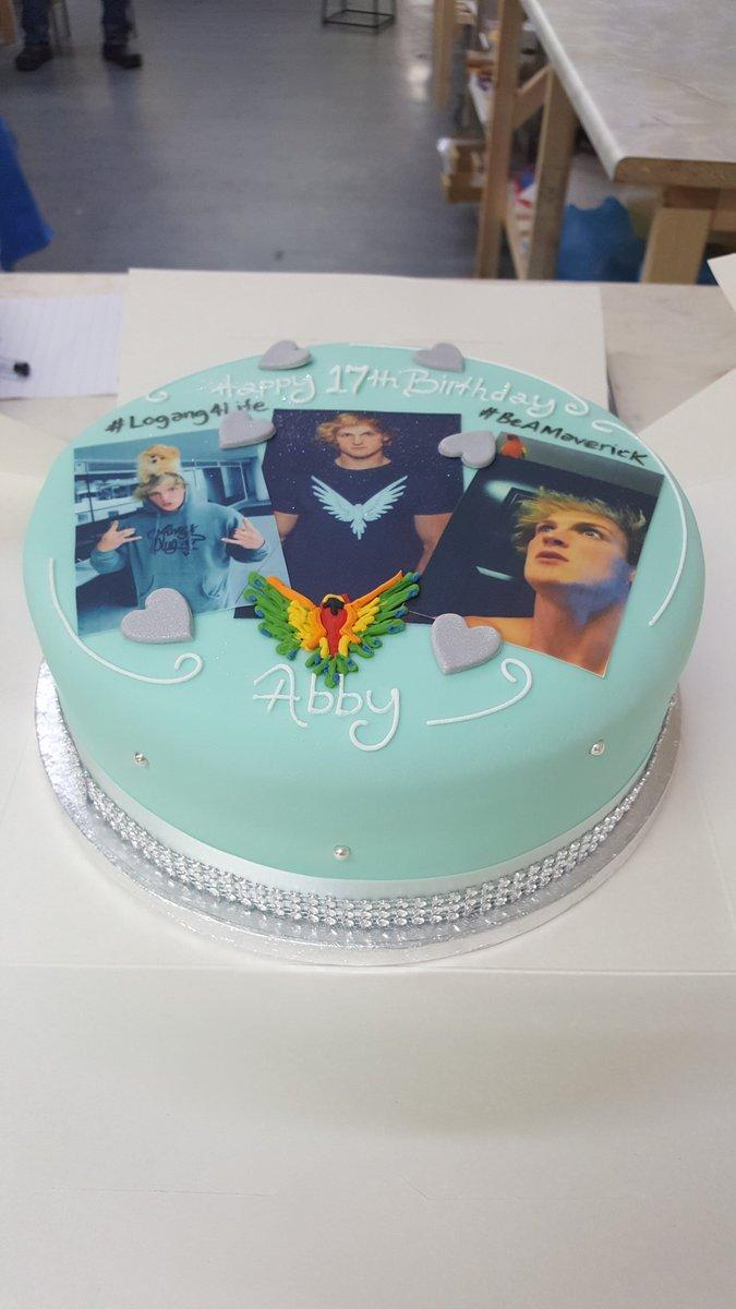 Logan Paul Birthday Cake