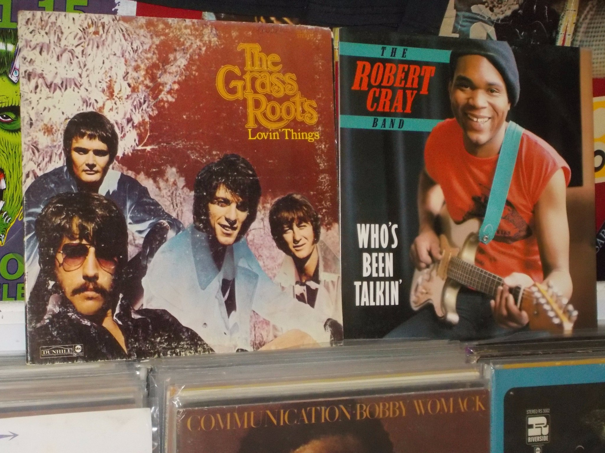 Happy Birthday to the late Rick Coonce of the Grass Roots & Robert Cray