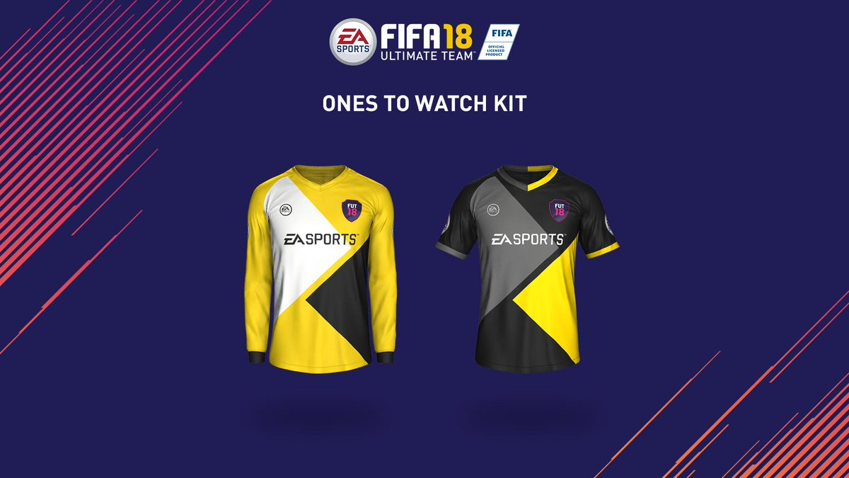 5c410e86a  FUT18 will have more custom kits than ever before!  FUTLIVE  FIFA18 pic.twitter.com Z9GiEZEtlM
