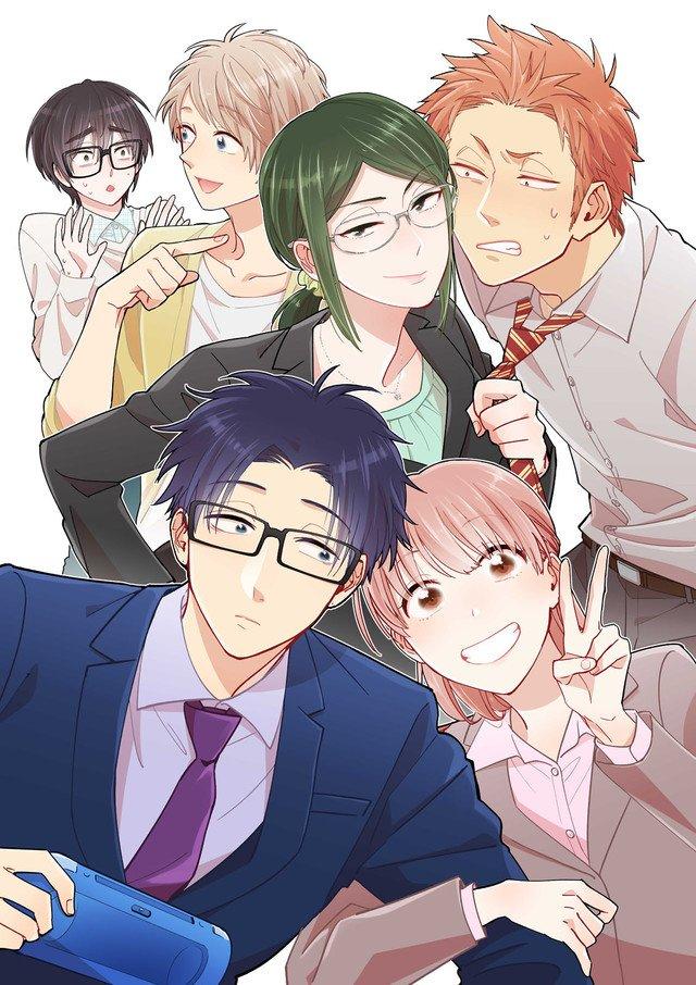 Anime Fall On Twitter Fujitas Romantic Comedy Manga Wotaku Ni Koi Wa Muzukashii Receives TV Adaptation