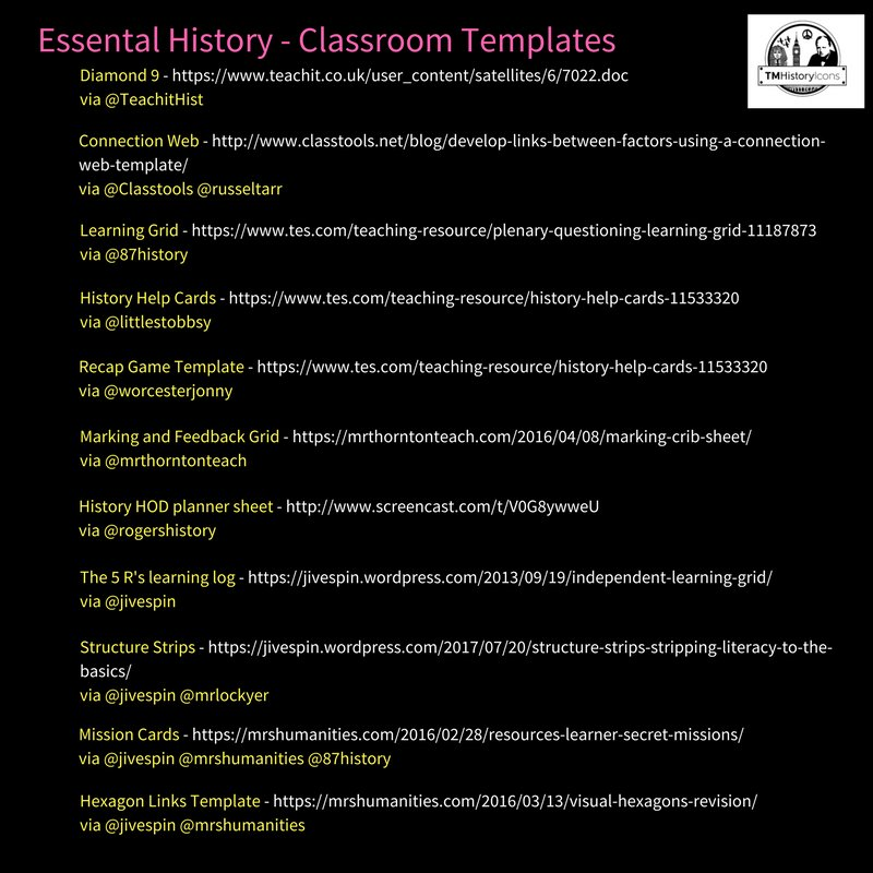 tom rogers on twitter new my essential history teaching