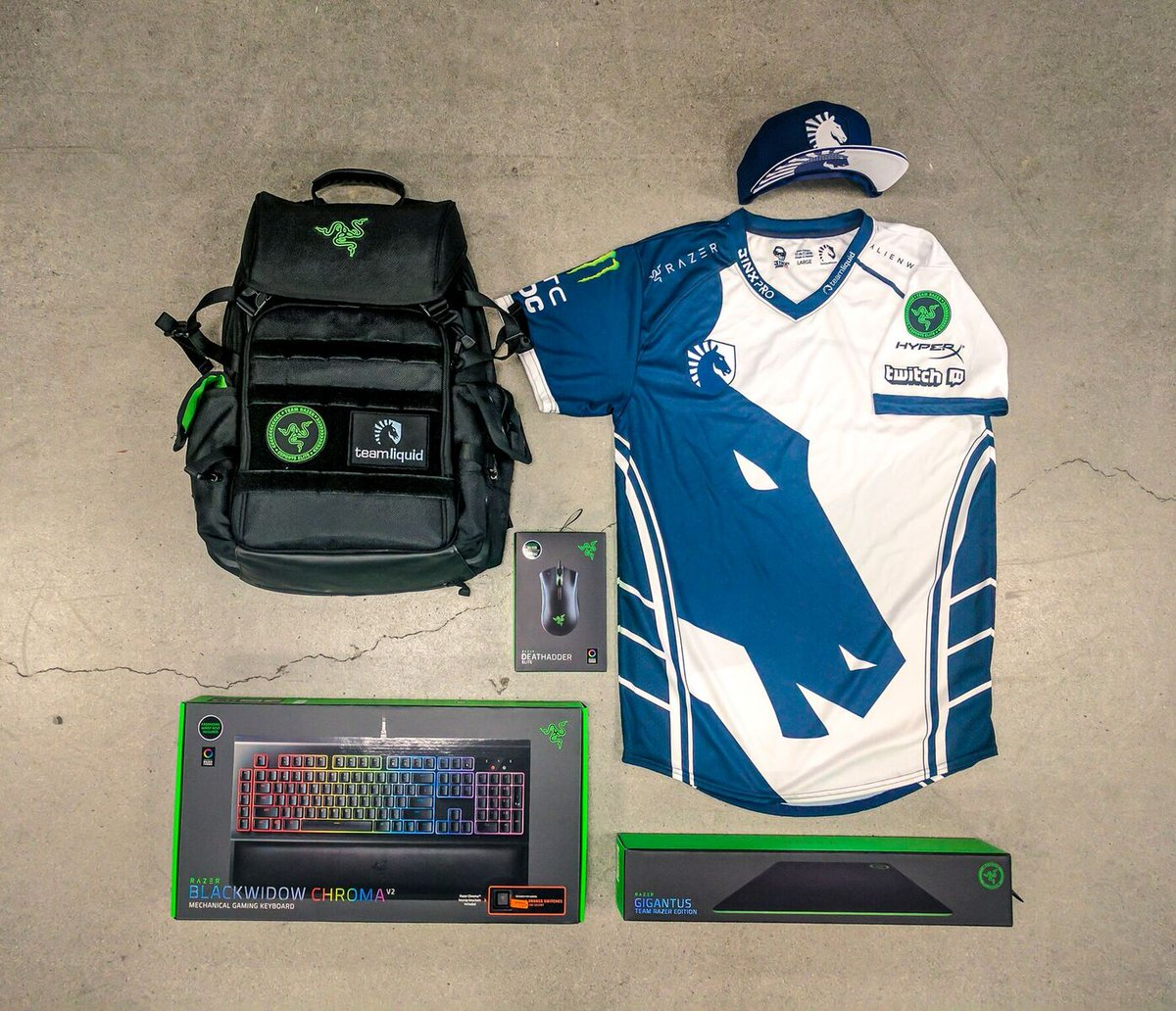 Gear up for #TI7 and enter to win this @...