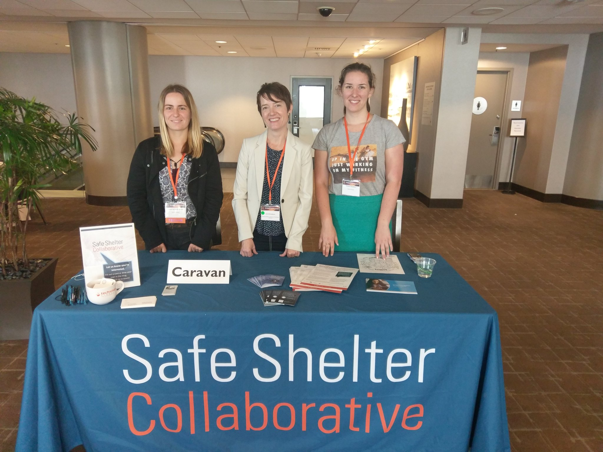 Our team is at @nnedv #techsummit17 representing #SafeShelterCollaborative - tweet at @swashtalks to learn more! https://t.co/I43pdchdGN