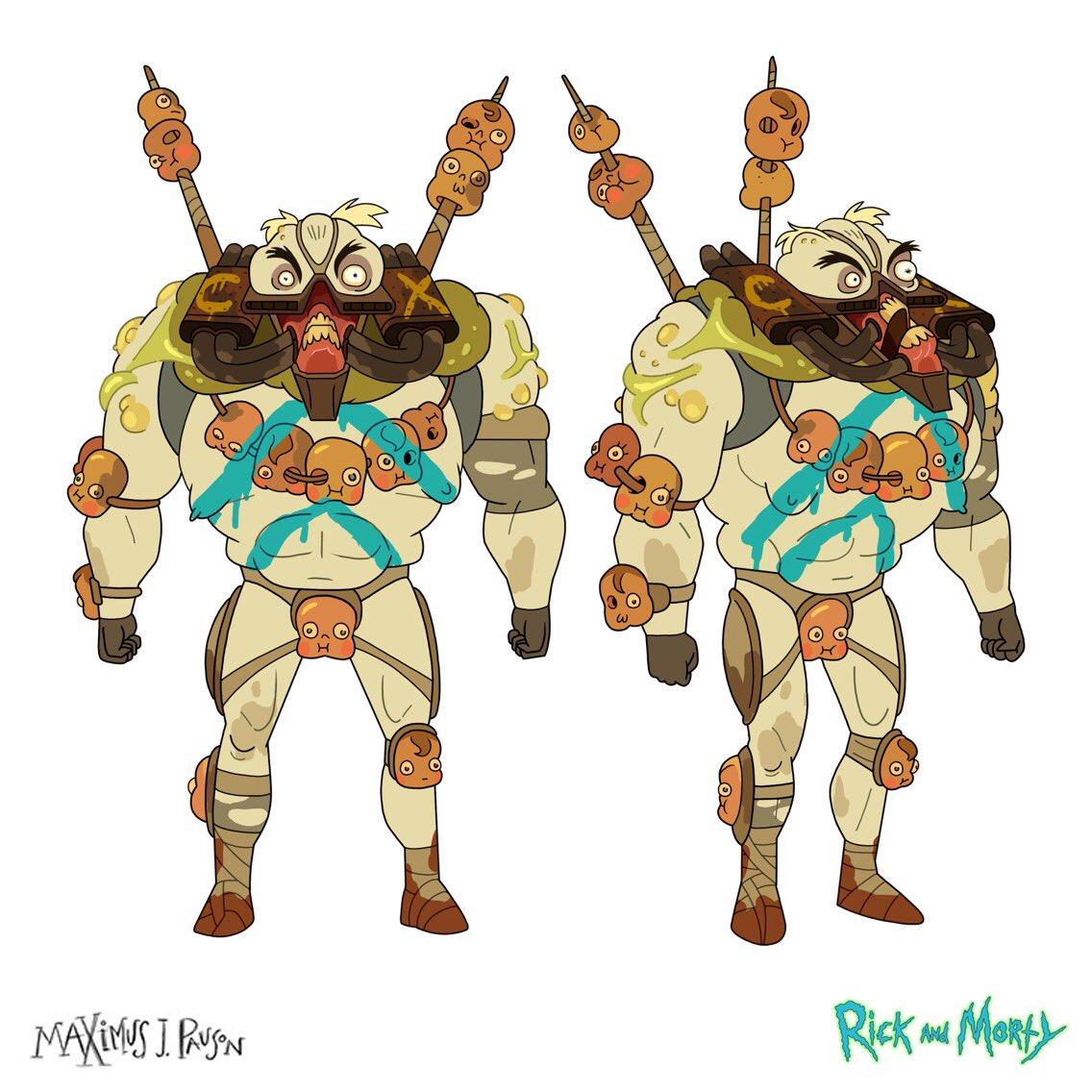 Maximus J Pauson On Twitter Character Design Of Colossus I