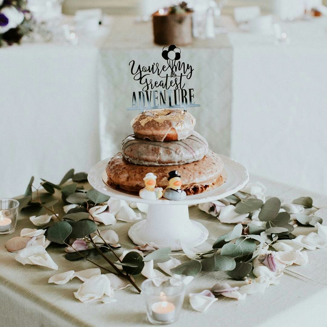 Donut Wedding Cake.Cartems Donuts On Twitter Why Have A Wedding Cake When You