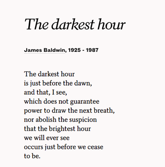 James Baldwin was born #OnThisDay in 1924. https://t.co/NkI3ChJlpZ https://t.co/9p1uj56Fs9