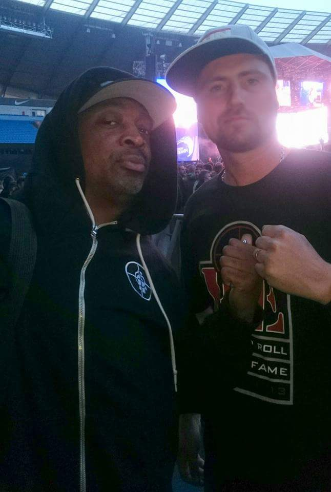 I want to wish a Big Happy Birthday to the Rhyme Animal Mr Chuck D. Hope your having a great day