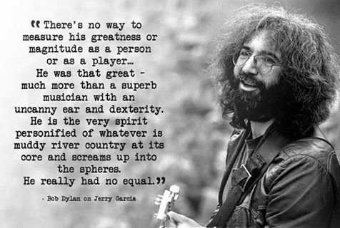 Happy Birthday to Jerry Garcia! He would have been 75 years old today.