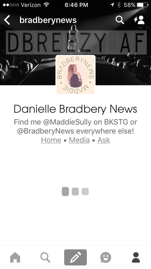 #AskMaddie where's your Tumblr page at? @BradberyNews<br>http://pic.twitter.com/70X59BmjKX